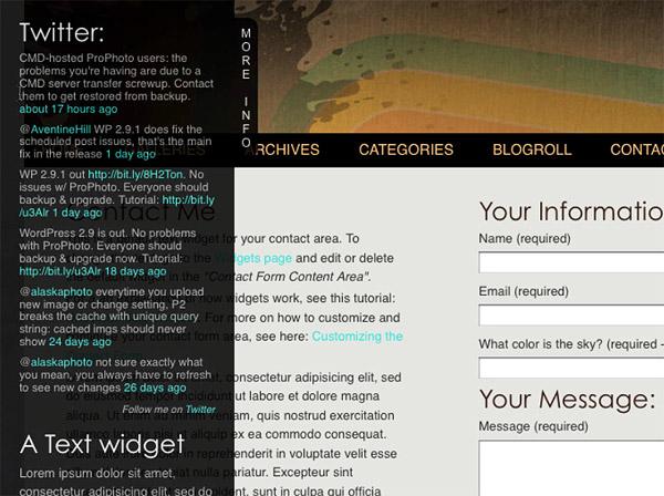 Understanding Widgets